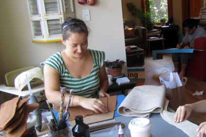 Yolanda Escoto Unna - crafter of sets, costumes, and accessories