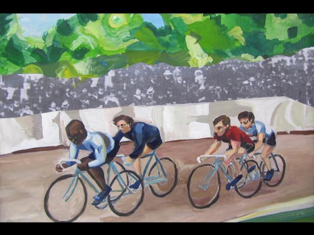 Palmer Race Track by Jenn Wilson